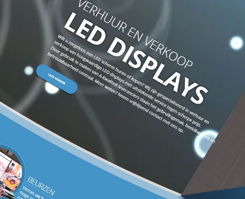 led,leddisplay,verhuur,leiden