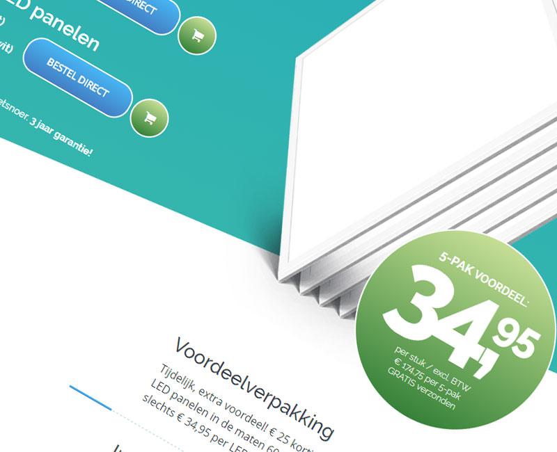 led,ledpaneel,ledverlichting,ecommerce,webshop,webapplicatie