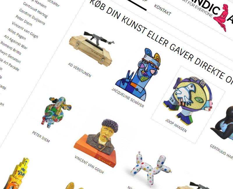 kunst,kunsthandel,kunstenaar,ecommerce,webapplicatie